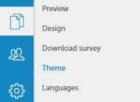 Survey theme