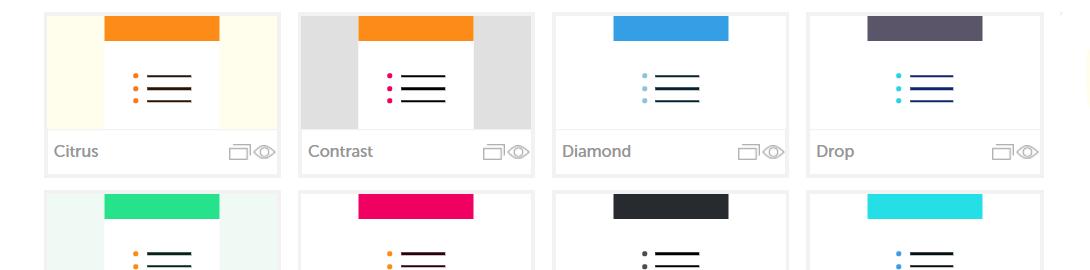 survey design skins view